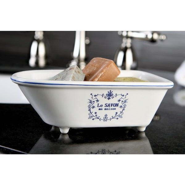 Le Savon Classic Clawfoot Tub Soap Dish