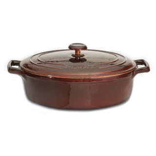 Neo Cast Iron 11-inch 4.8-quart Covered Oval Casserole