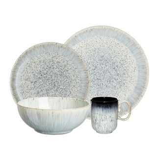 Denby Halo Blue 4-piece Place Setting