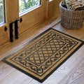 Rubber and Coir Molded Natural Doormat