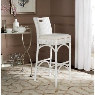 Safavieh Fremont White Barstool