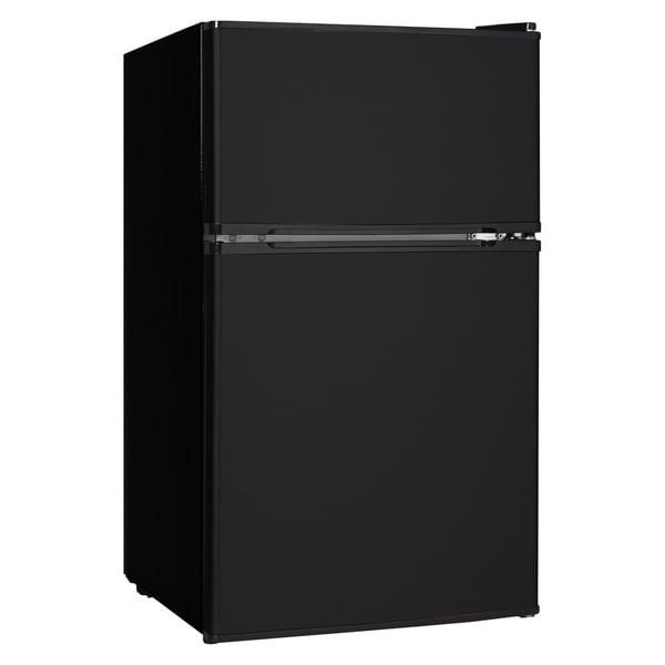 3 1 Cubic Feet Refrigerator Black 16730621 Overstock