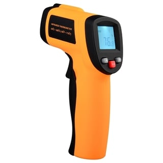 INSTEN Temperature Thermometer Handheld Digital LCD IR Infrared Laser Gun