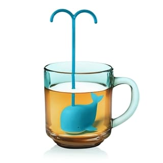 Fred & Friends Diving Whale Tea Leaf Silicone Infuser
