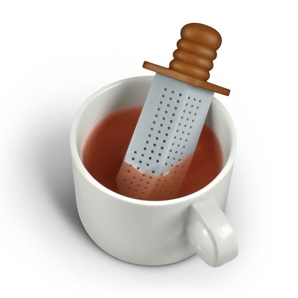Fred & Friends Strong Brew Sword Tea Infuser Loose Leaf Tea Bag