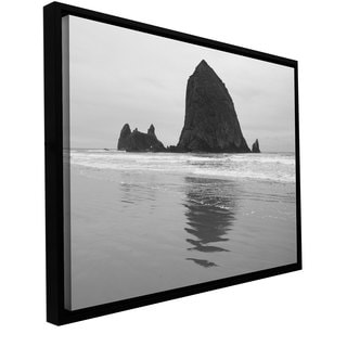 Cody York 'Goonies Rock' Floater-framed Gallery-wrapped Canvas