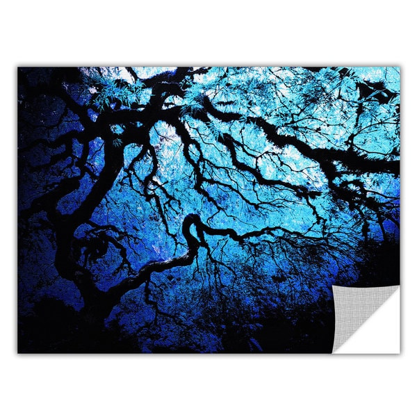 John Black 'Japanese Ice Tree' Removable Wall Art