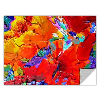 Susi Franco 'Charlits Floral' Removable Wall Art