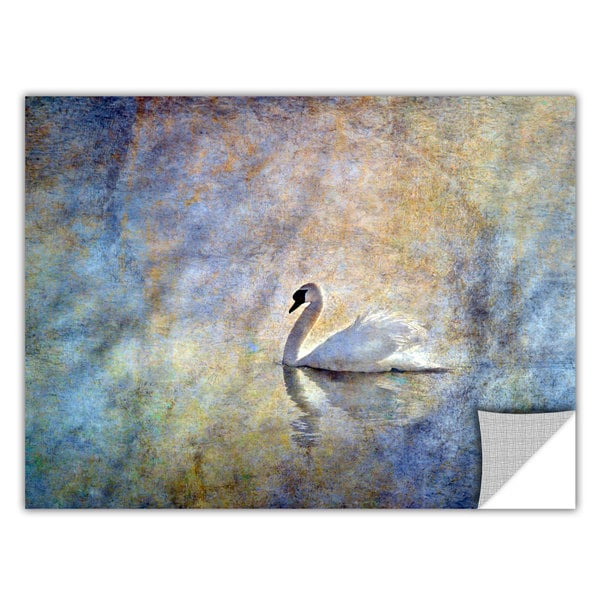 David Liam Kyle 'The Swan' Removable Wall Art