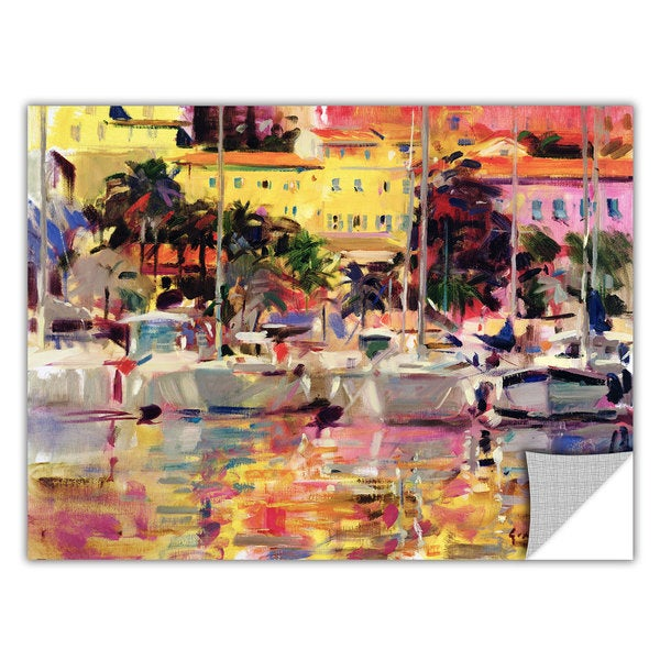 Peter Graham 'Golden Harbour Vista' Removable Wall Art