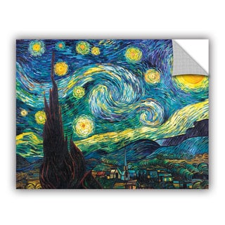 Vincent van Gogh 'Starry Night' Removable Wall Art