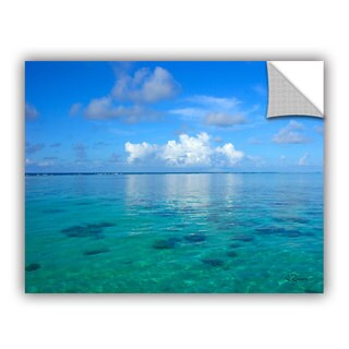 George Zucconi 'Lagoon and Reef' Removable Wall Art