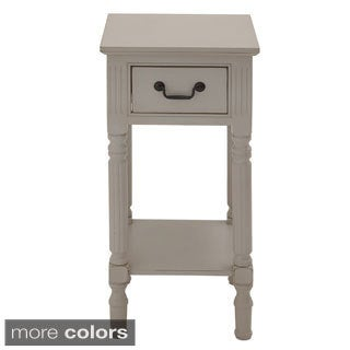 Casa Cortes Lena Square 30-inch Wood Accent Table