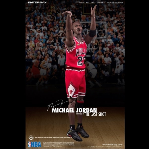 Enterbay NBA Collection (RM-1058) Michael Jordan Series 2 The Last Shot Figure