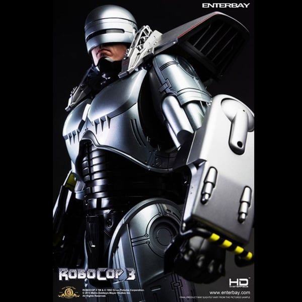 Enterbay Real Masterpiece (HD-1012) Robocop 3 Figure 14200958