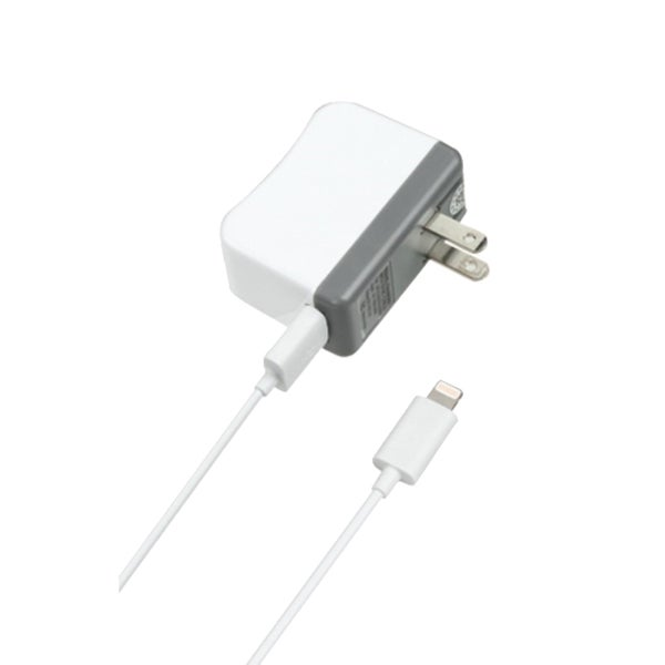 INSTEN Travel Charger with Power and Sync Lightning Connector For iPhone 5/5S/5C