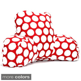 Large Polka Dotted Reading Pillow