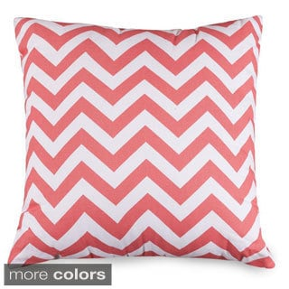 Large Cotton Chevron Pillow