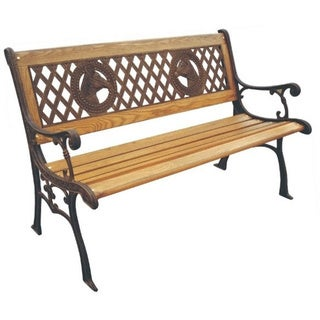 Champions Cast Iron Park Bench