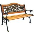 Palm Spring Camel Back Bench