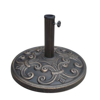 18-inch Umbrella Base with La Fleur Design