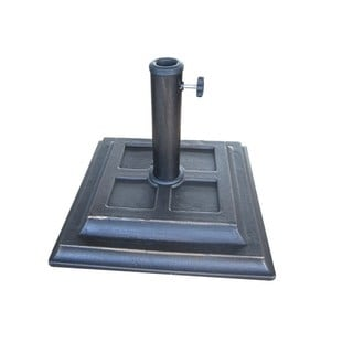 Cast Stone Square Umbrella Base