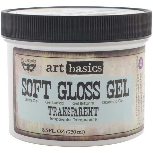 Art Basics Soft Gloss Gel 8.5oz-Transparent