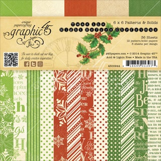 """Graphic 45 Paper Pad 6""""X6"""" 36/Pkg-'Twas The Night Before Christmas"""