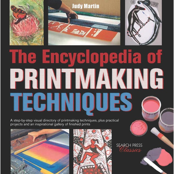 Search Press Books-The Encyclopedia Of Printmaking