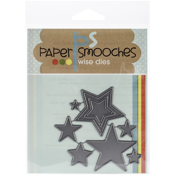 Paper Smooches Die-Stars