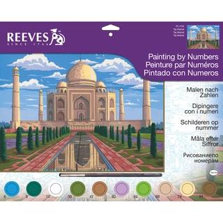 "Paint By Number Kit 12""X16""-Taj Mahal"