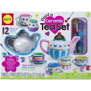 Paint A Ceramic Tea Set Kit