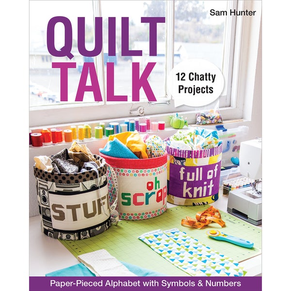 Stash Books-Quilt Talk