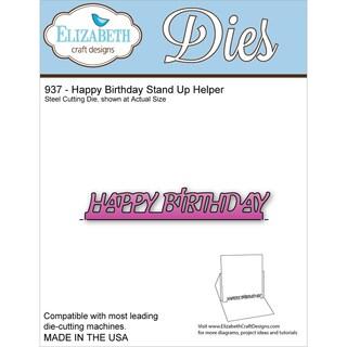 Elizabeth Craft Metal Die-Happy Birthday Stand Up Helper