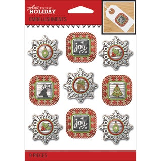 Jolee's Christmas Stickers-Holiday Frames