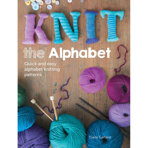 David & Charles Books-Knit The Alphabet