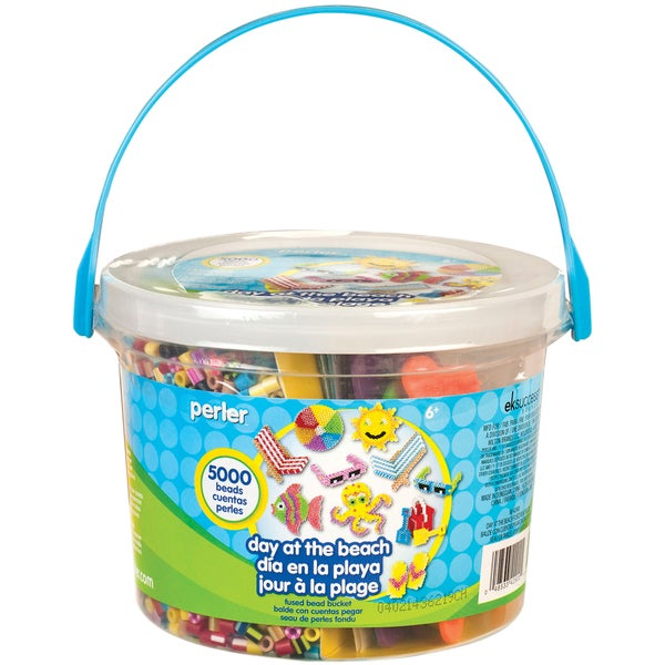 Perler Fun Fusion Fuse Bead Bucket-Day At The Beach