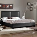 Baxton Studio Moderne Modern Platform Bed in Black