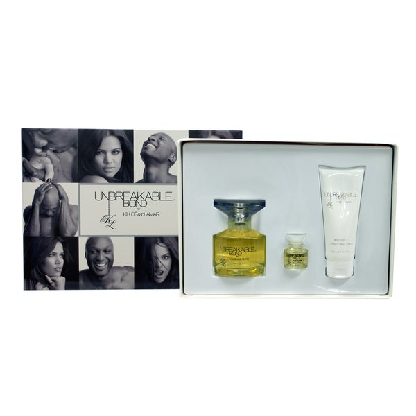 Khloe and Lamar Unbreakable Bond 3-piece Fragrance Set