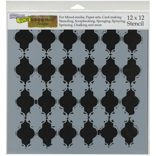 """Crafter's Workshop Template 12""""X12""""-Alhambra"""