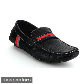 J's Awake Men's 'Peter-33' Slip-on Flat Loafers