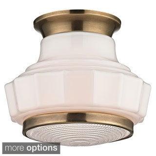 Hudson Valley Odessa 1-light Semi Flush