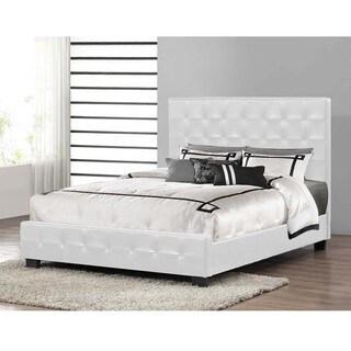 Baxton Studio Manchester Modern Platform Bed in White