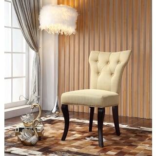 Royal Comfort Maori Luxury Yellow Dining Chair (Set of 2)