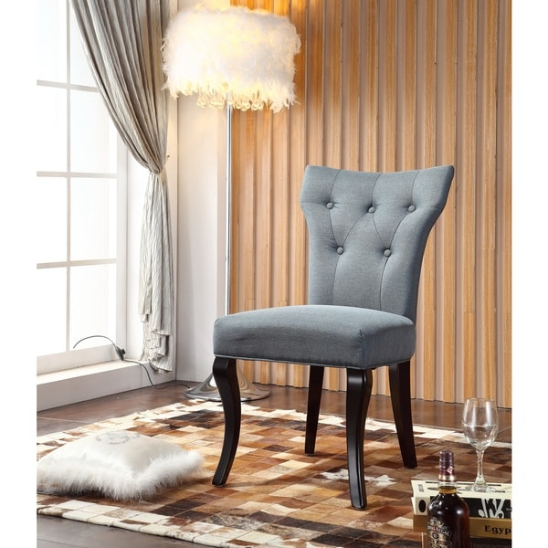Royal Comfort Maori Luxury Blue Dining Chair (Set of 2)