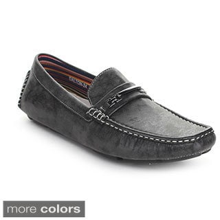 J's Awake 'Dalton-24' Men's Driving Moccasins Style Slip-on Loafers