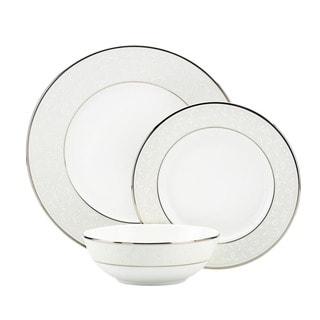 Lenox Opal Innocence 3-piece Dinnerware Place Setting