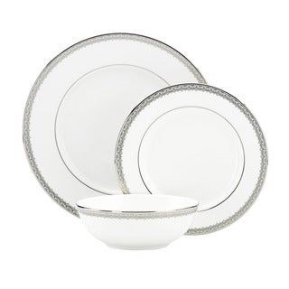 Lenox Lace Couture 3-piece Dinnerware Place Setting