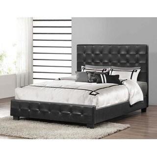 Baxton Studio Manchester Modern Platform Bed in Black