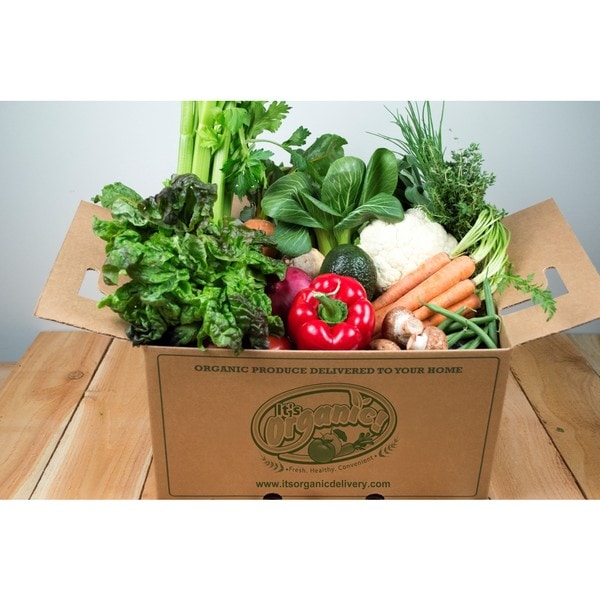 It's Organic Certified Organic Fresh Vegetable Bin (Local Delivery)